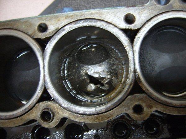 Casse moteur en 2013  - Photos