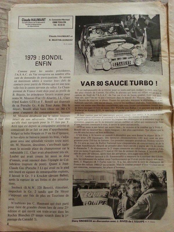 Articles de presse - JC Sola et Claude Haumant