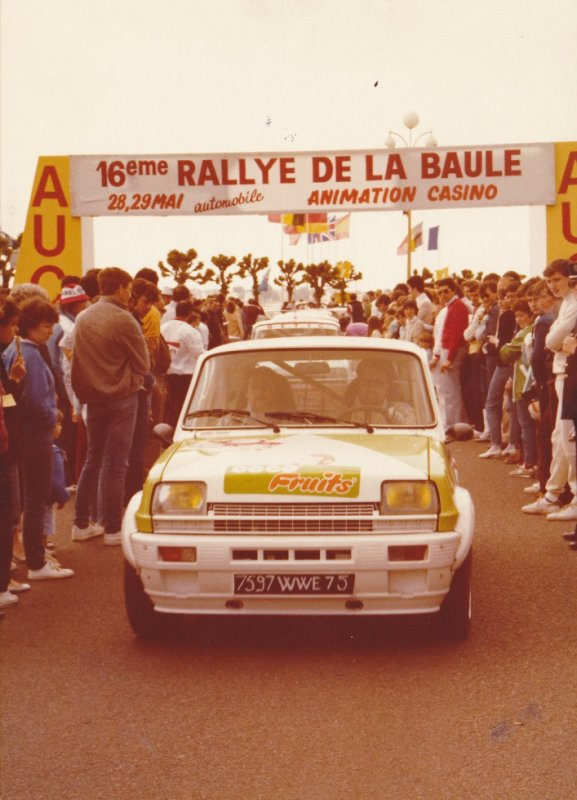 Rallye de la Baule 1984 - photos