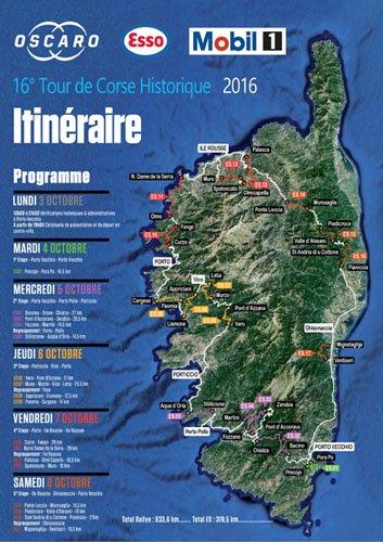 Le Tour de Corse Historique 2016 - Présentation
