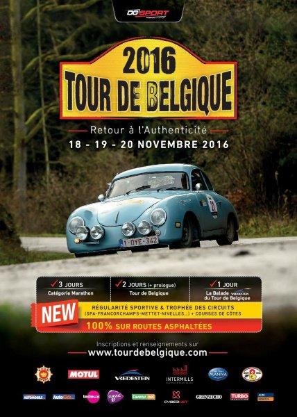 Tour de Belgique 2016 - L'affiche et les photos