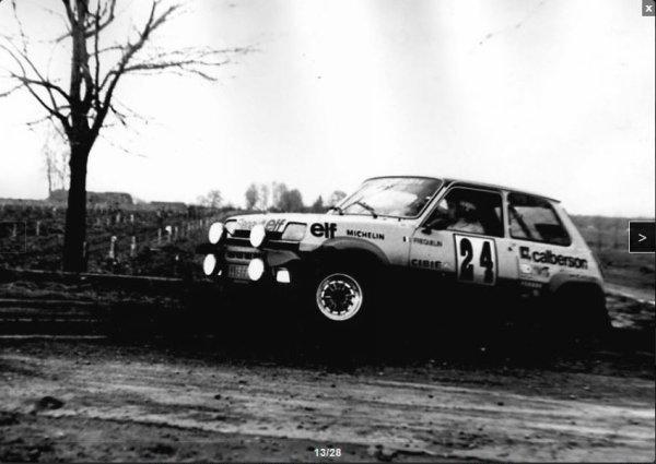 Rallye de varsovie 1977 - Fréquelin - Photos