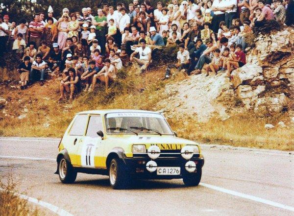 Rallye d'Hébros 1980 - Photos