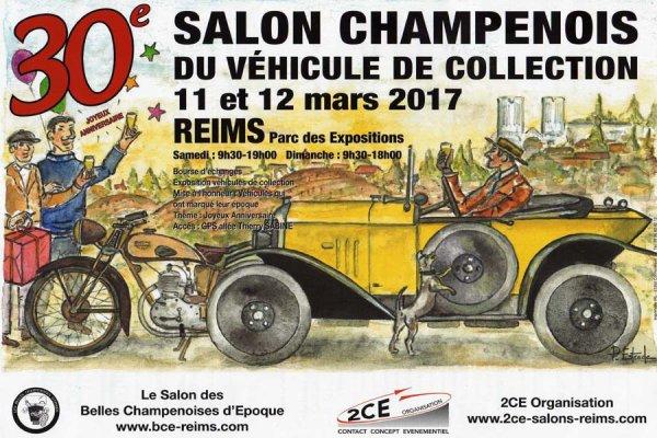 Salon de Reims 2017 - L'affiche et les photos