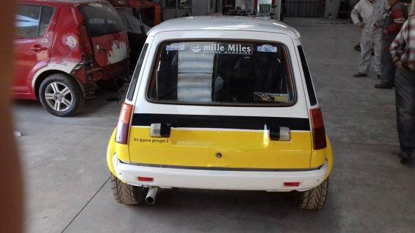 Présentation de la nouvelle voiture à José Levèque