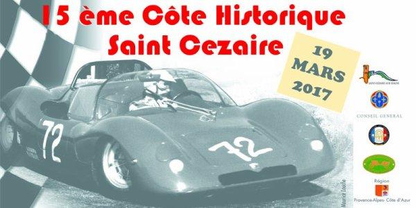 Monrée Historique de St Cézaire 2017 - L'affiche et les photos