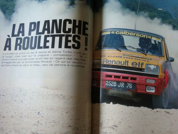 Magazine KM/H - Article sur la GR2