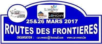 Rallye Routes des Frontières 2017 - L'affiche + photos + vidéo