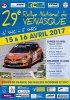 Rallye de Vénasque 2017 - L'affiche et les photos