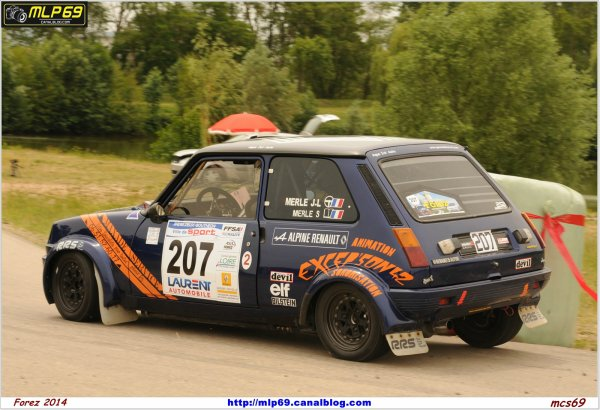 Rallye du Forez en 2012 - Photos