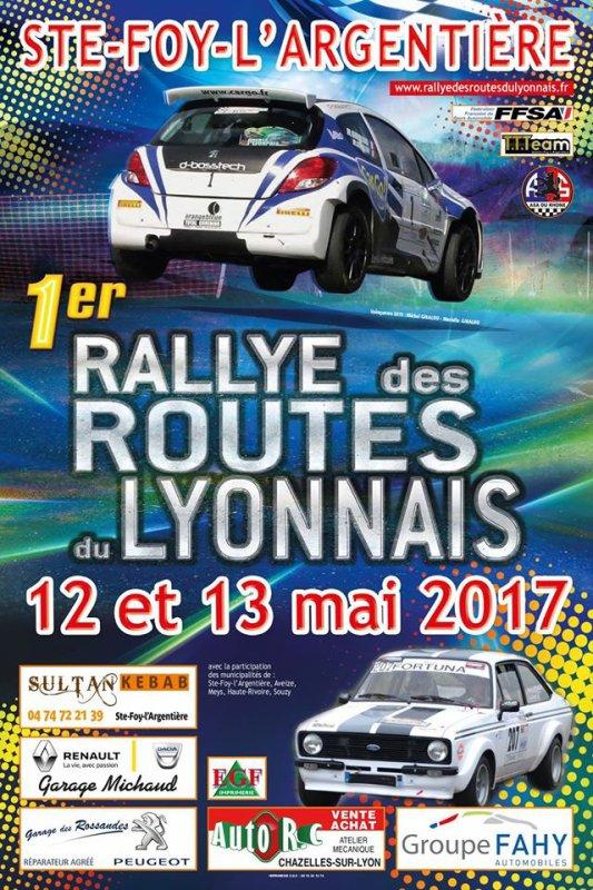 Routes du Lyonnais 2017 - L'affiche et les photos