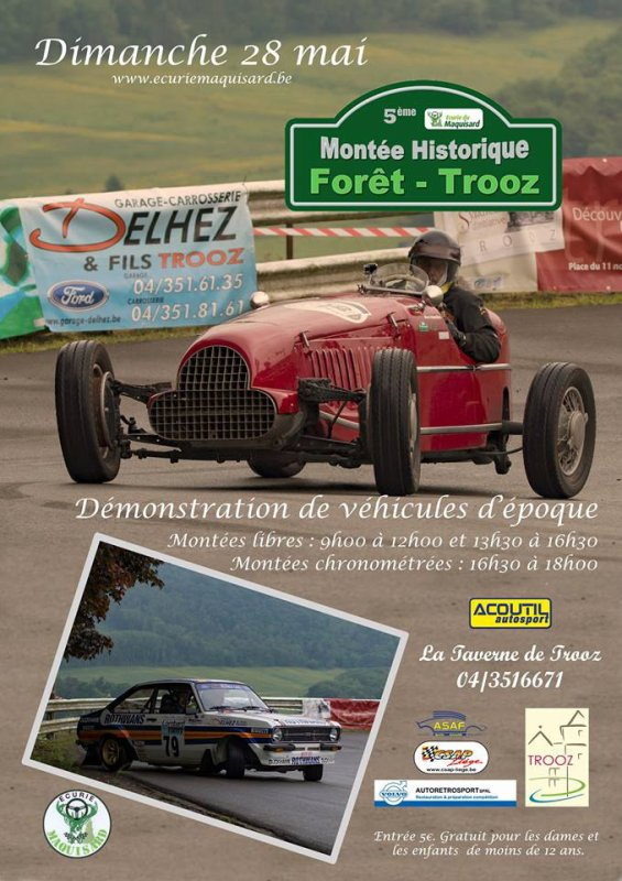 MH de Trooz 2017 - L'affiche et les photos