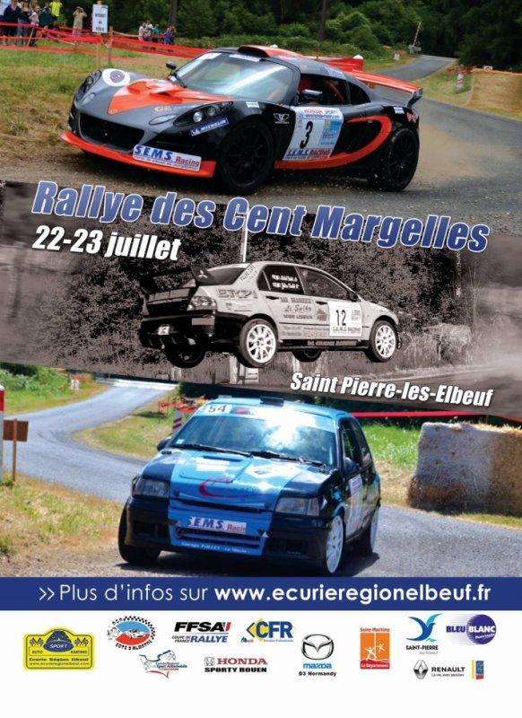 Rallye des Cents Margelles 2017 - L'affiche et les photos