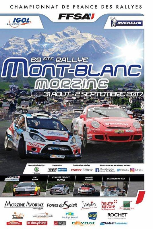 Rallye du Mont Blanc 2017 - L'affiche - les photos et les vidéos