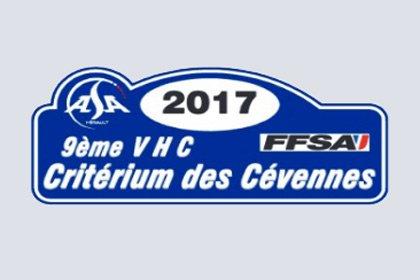 Critérium des Cévennes 2017 - L'affiche et les cartes