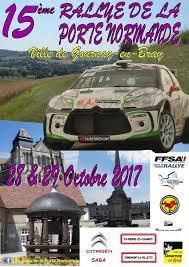 Rallye de la Porte de Normandie 2017 - L'affiche et les photos