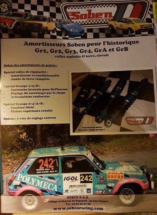 Rallye du Var 2017 - Article sur Jean Claude Sola