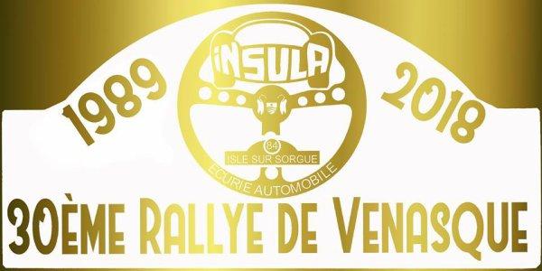 Rallye de Vénasque 2018 - L'affiche et les photos
