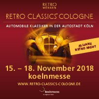 Retro Classic à Cologne du 15 au 18/11/2018 - Affiche + photos