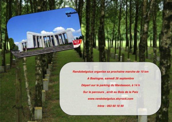 Bastogne en septembre