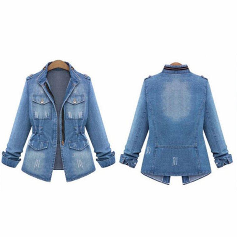 It's time to buy a denim jacket,isn't it?