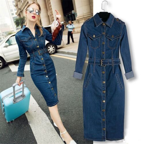 My favorite three denim dress, I believe you will be the same as me