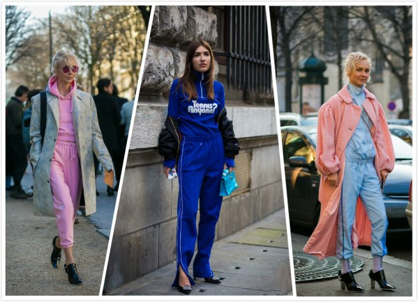 Sports suit can also be very fashionable