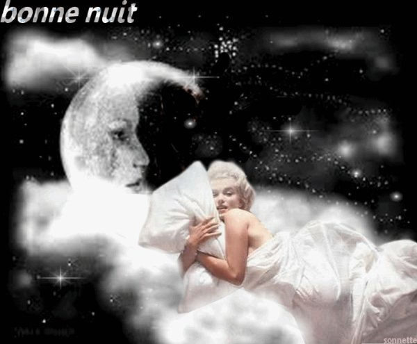 je vous souhaite une belle nuit