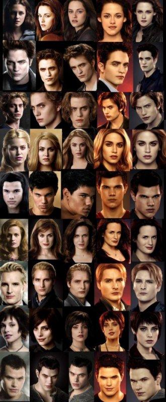 evolution des personnages au fil des films