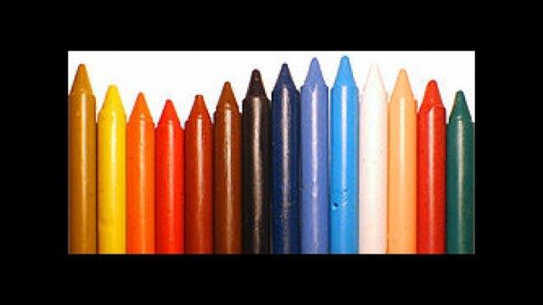Crayon de cire