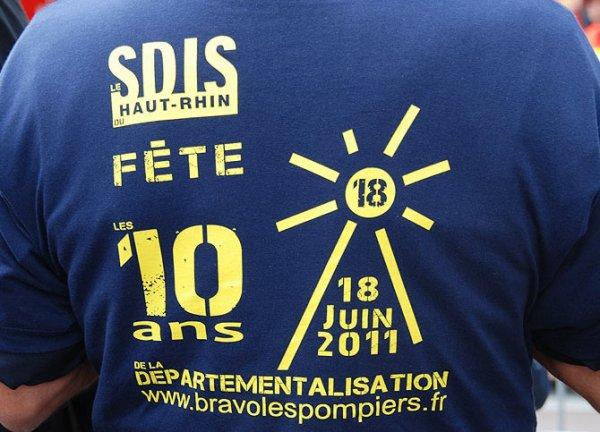 SDIS 68,10 ANS DE DEPARTEMENTALISATION.....