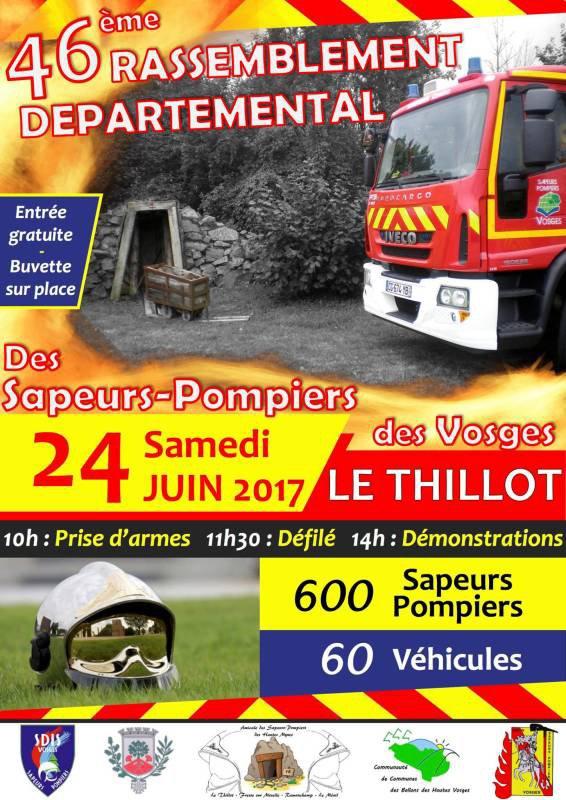 RASSEMBLEMENT DEPARTEMENTAL UDSP 88 LE THILLOT