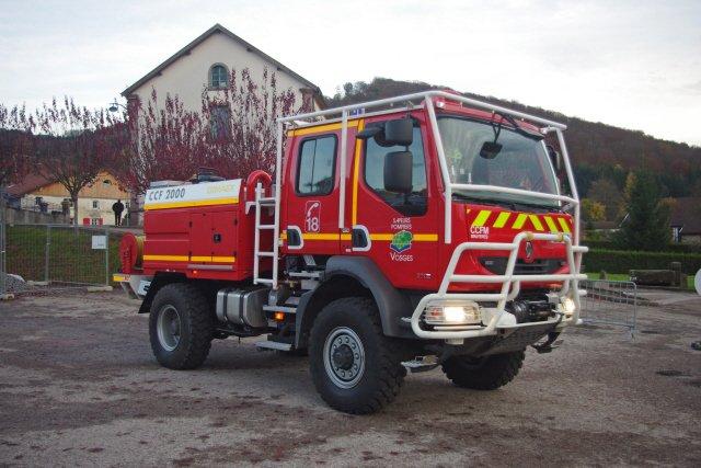 Photographies de véhicules pompiers....
