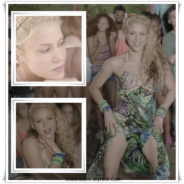 Shakira ft. Carlos Vives : La Bicicleta