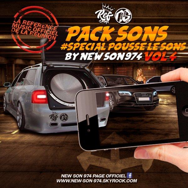 ★ Pack Sons #Spécial POUSSE LE SONS VOL.4 (By New-Son-974) 2017 ★