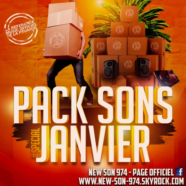 ★ Pack Sons #SPECIAL JANVIER (By New-Son-974) 2018 ! ★
