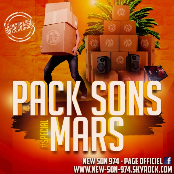 ★ Pack Sons #SPÉCIAL MARS (By New-Son-974) 2018 ! ★