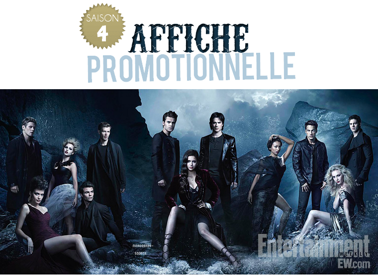 • Découvrez une nouvelle photo promotionnelle de The Vampire Diaries saison 4
