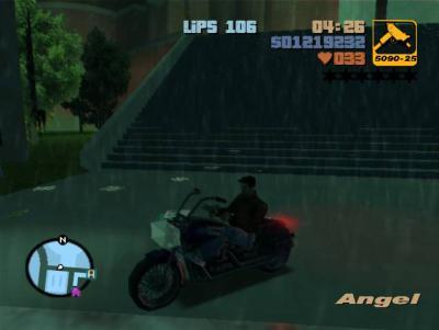 moto de Vice City dans GTA III - Music,Trains et Jeux Vidéos