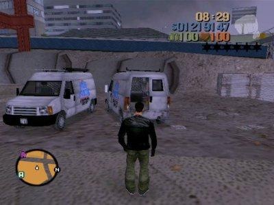Panlantic Van du mod GTA the Worst City Final version.