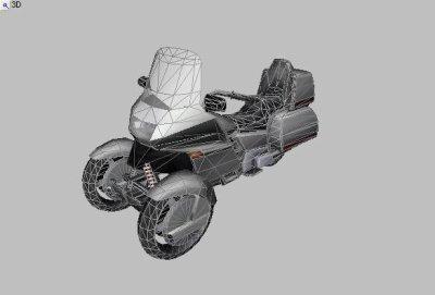 moto pour GTA III, la Wayfarer Trike concept.