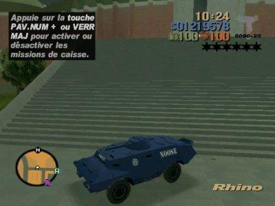 GTA The Worst City, NOOSE Rhino.
