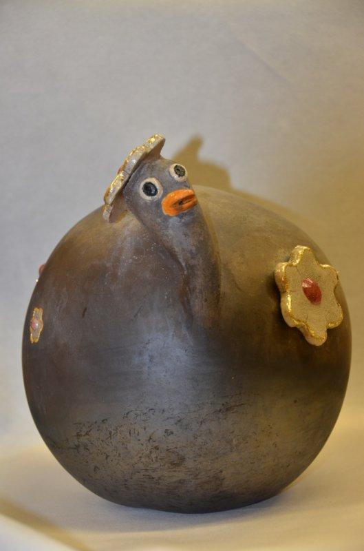 Grand canard - raku