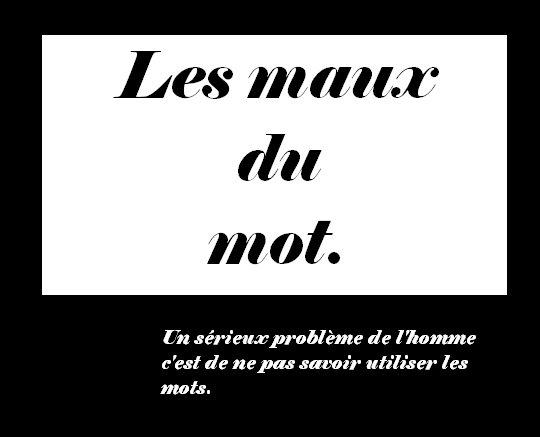 """""""Un mot pour tous. Tous pour un mot """" La Rue Kétanou"""