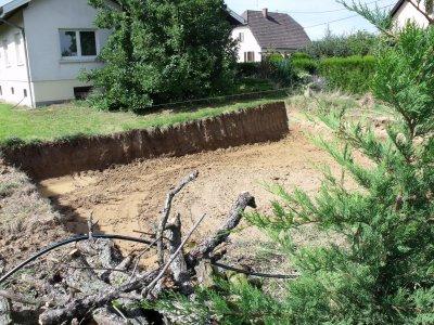 Début de la construition le 24 Aout 2010