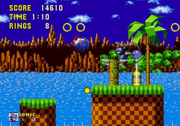 Sonic The Hedgehog - Green Hill Zone (Zone De La Colline Verte)