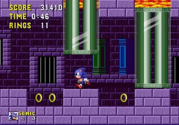 Sonic The Hedgehog - Marble Zone (Zone De Marbre)
