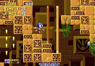 Sonic The Hedgehog - Labyrinth Zone (Zone De Labyrinthe)