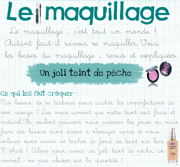 Le maquillage ~