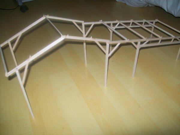 construction d une stabule + angar a paille